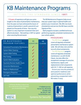 KB Maintenance Programs2016SellSheet (1)