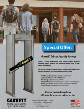 Garrett School Security Savings
