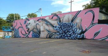 SpraySeeMO - The Mural at Kenton Brothers