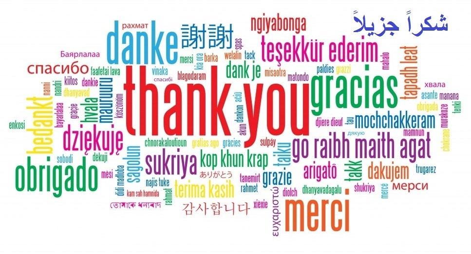 Thank You in Other Languages