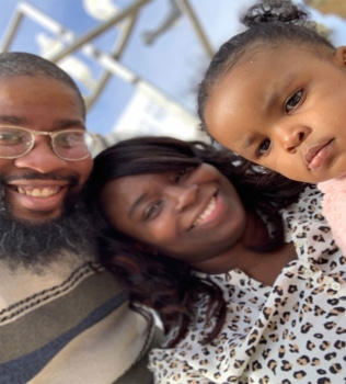 Marquan Jones and Family