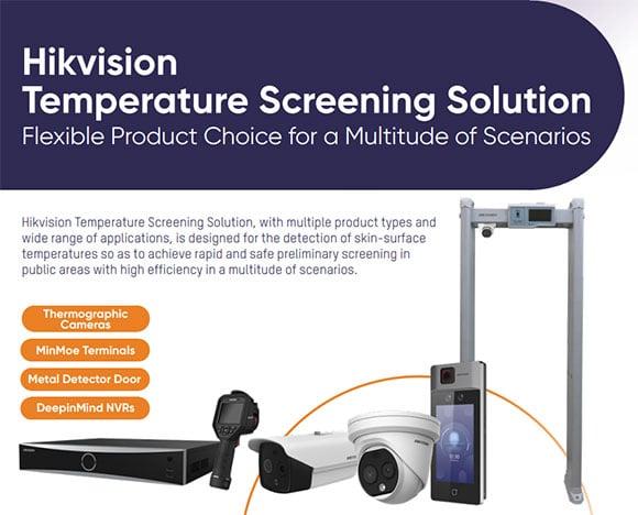 Hikvision Temperature Screening Solutions
