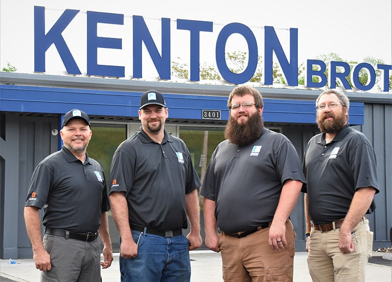 Kenton Brothers: Congratulations to our four new foremen!