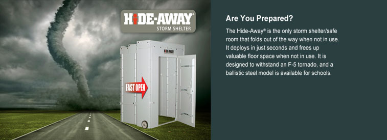 Hide-Away Storm Shelters