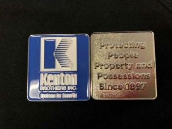 Kenton Brothers Challenge Coins