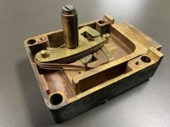 100 Year Old Lock Repair