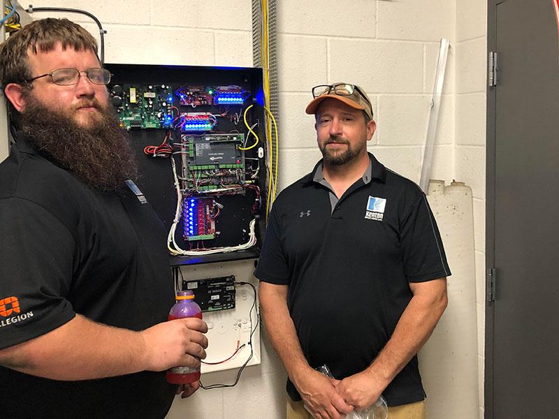 Josh Ast and Tim Thompson, KB Senior Technicians