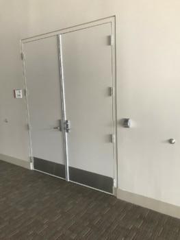 Bartle Hall - Door